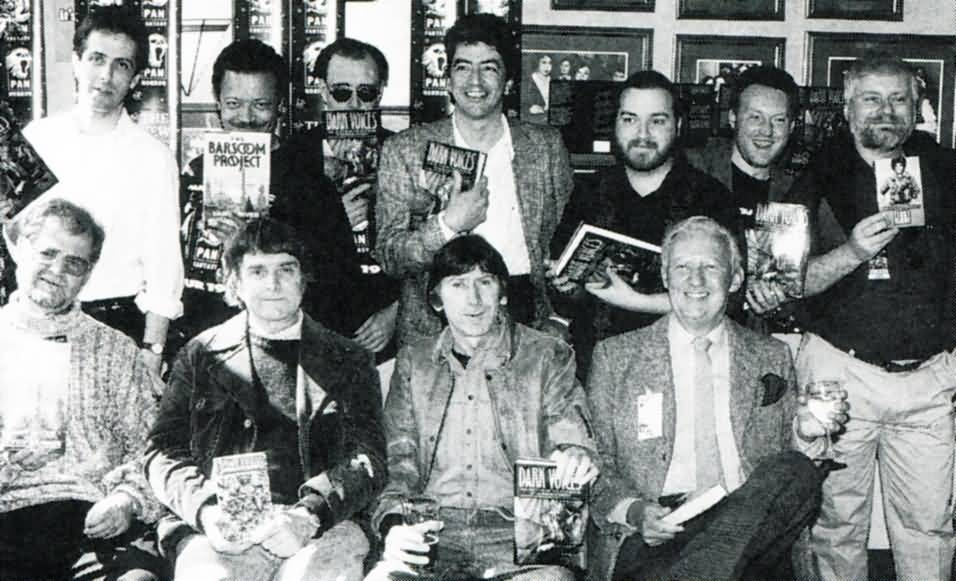Dark Voices signing 1990