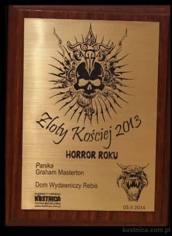 Golden Bones award, 2013 (Polish)