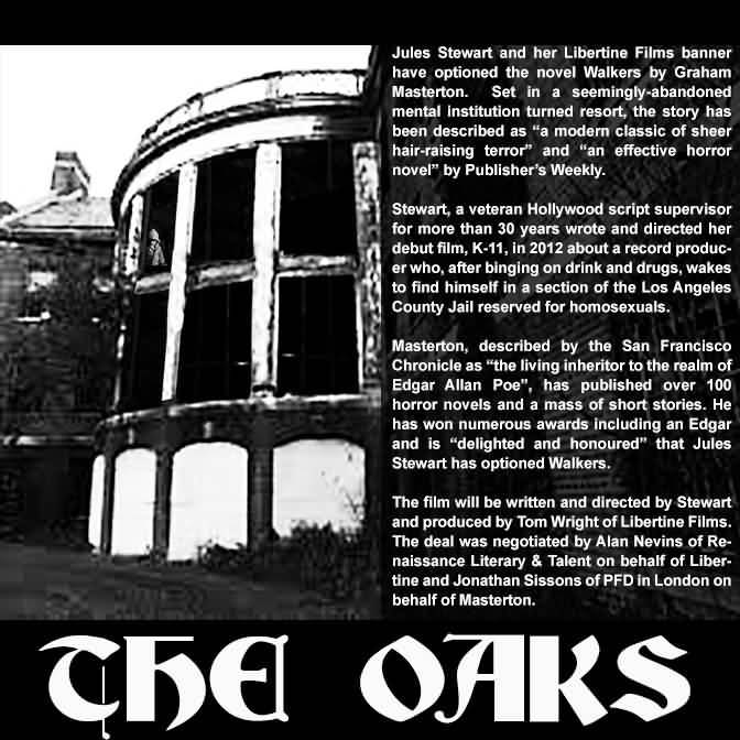 The Oaks story - Walkers to be filmed